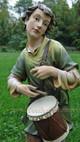Drummer Boy Outdoor Nativity Joseph's Studio - 36490