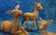 """Donkey Family - 5"""" Fontanini Nativity Animals 51533"""