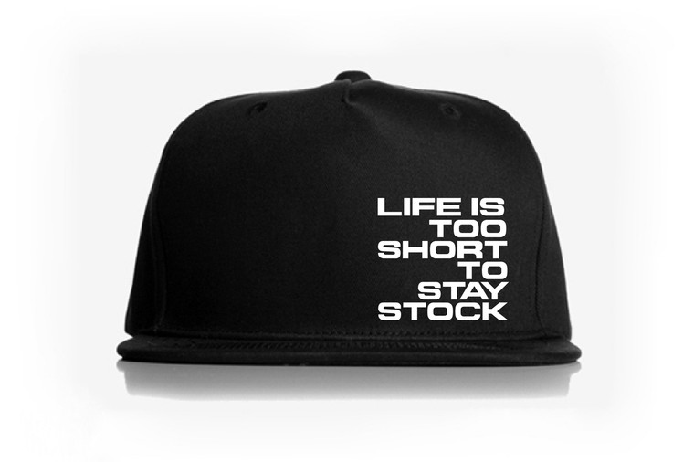 Too Short Snap Back Hat