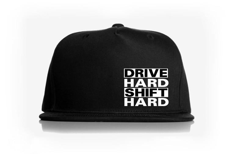 Drive Hard Snap Back Hat