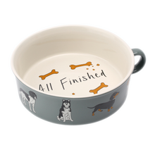 Dog Bowl With Handle