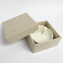 White Porcelain Dish With a Little Raised Rabbit