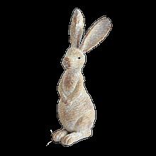 White Wash Standing Rabbit decoration
