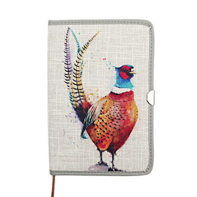 Pheasant design country A5 notebook