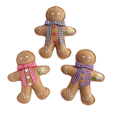 Three Adorable Summer Gingerbread