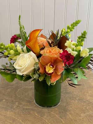 Seasonal Designer's Choice Floral Arrangement
