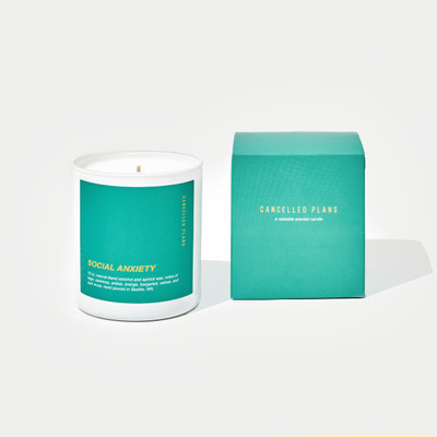 Cancelled Plans Social Anxiety Candle