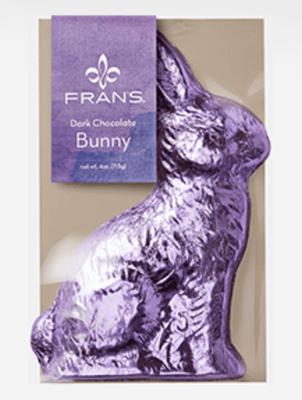 Fran's Dark Chocolate Bunny