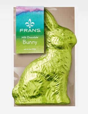 Fran's Milk Chocolate Bunny