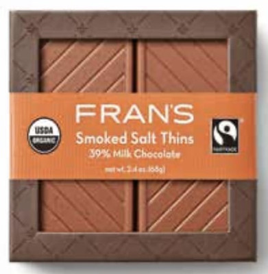 Fran's Smoked Salt Thins 16 pieces