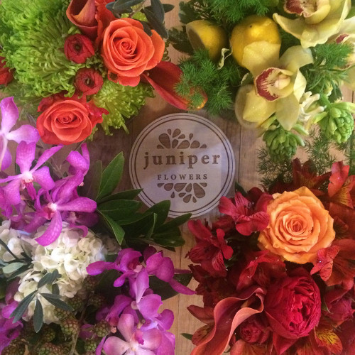 The freshest selection of seasonal flowers