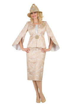 4554 Elegant Novelty three piece suit