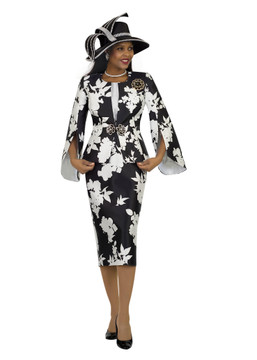 4515 Irresistible Three Piece Silky Twill Suit