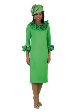 4375 Appealing Ponte Knit Dress