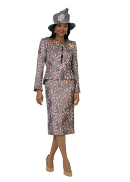 4408 Alluring Three Piece Novelty Suit