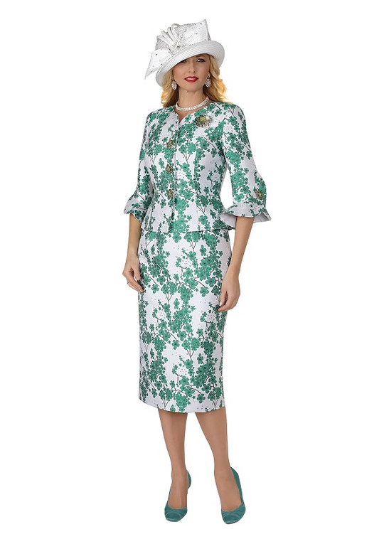 4371 Two Piece novelty-skirt-suit