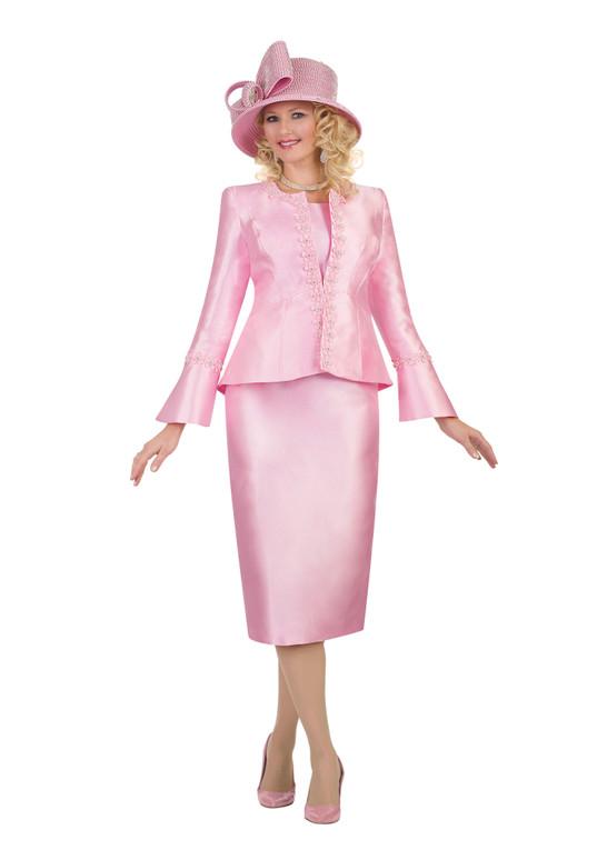4545 Ravishing Silky Twill Three Piece suit
