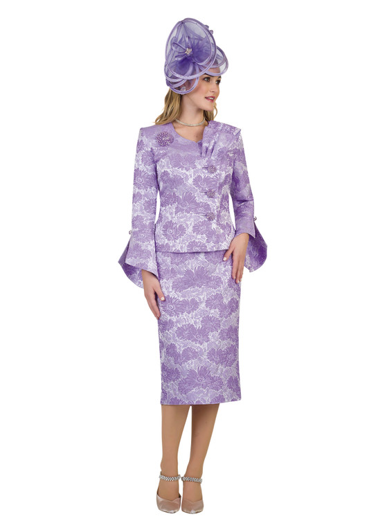 4479 Appealing Two Piece suit Novelty Jacquard Fabrication