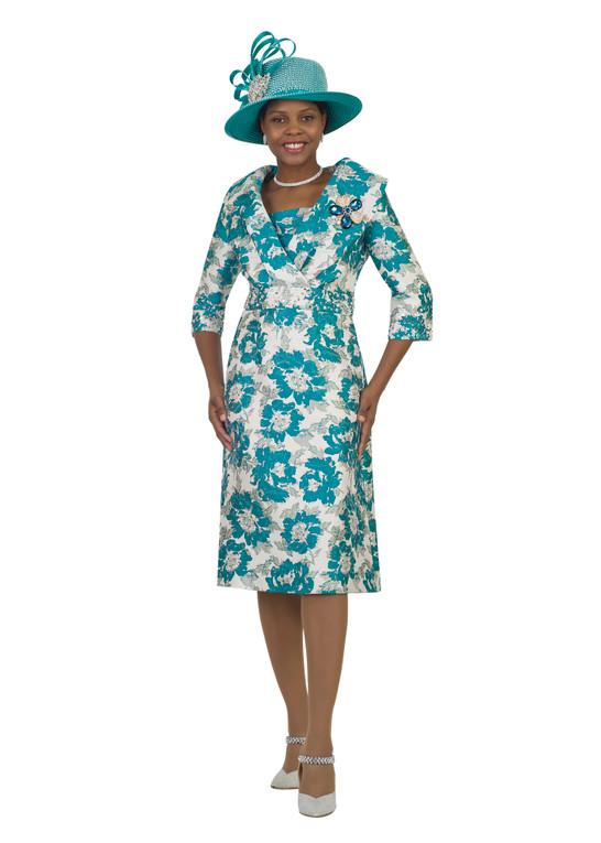 4550 Elegant Novelty Fabric Dress