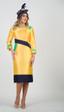 4489 Elegant Silky Twill multi Color Dress