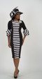 4536 Stunning Ponte Knit Dress