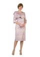 4433 Charming  Novelty Dress with Rhinestone buckle Trim