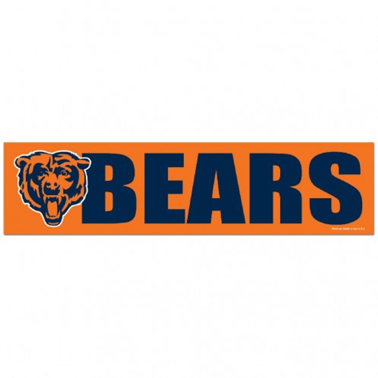 Chicago Bears Bumper strips