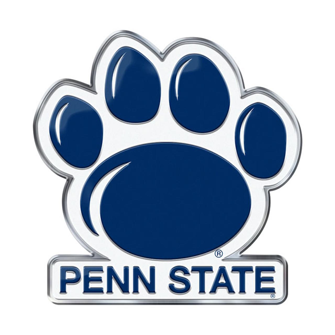 NCAA Penn State Nittany Lions Chrome Automobile Emblem