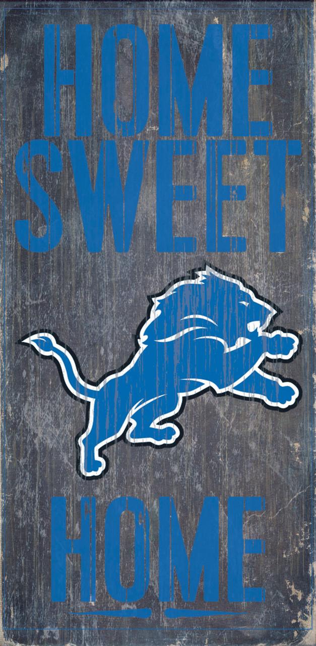 NCAA Auburn Tigers 6 x 12 Home Sweet Home Wood Sign