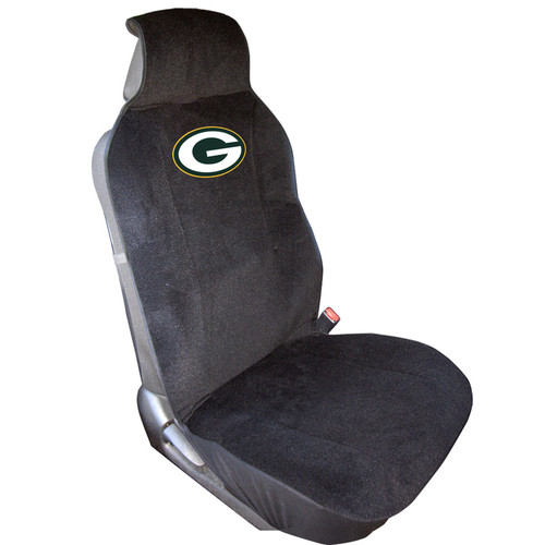 Deck out your ride in style with this officially licensed seat cover! Each seat cover is made out of a durable poly-velour material and features an embroidered team logo. The seat cover is stain resistant and fits most seats with adjustable head rests. Heavy duty security clips and easy to install instructions are included. Made By Fremont Die.