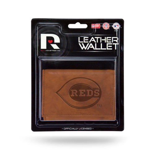Carry your essentials and show your team pride with the Rico Embossed Tri-Fold Wallet. Featuring a clear plastic identification slot, room to hold approximately four credit cards and a plastic picture insert, this wallet is exceptionally functional. The embossed team graphics display your team pride, so everyone will know you're not a fair-weather fan when you carry the Rico Embossed Tri-Fold Wallet. Made by Rico Inc