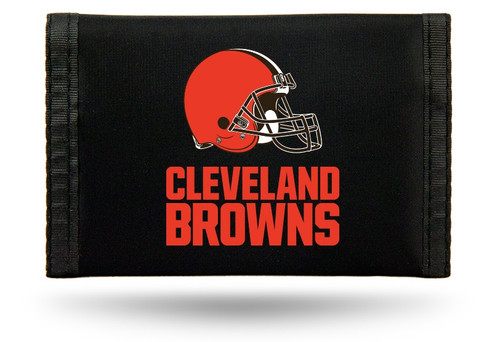"This officially licensed durable nylon wallet features vibrant team colors and logos. It has a compartment for money, 3 sewn in pockets and a plastic photo/credit card holder. The velcro closure keeps everything securely inside. Measures approximately 5""x3"" in size. Made By Rico Industries."