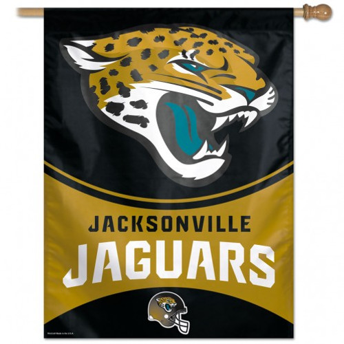 """This officially licensed flag is designed to hang vertically from an outdoor pole or inside as wall decor. It is made with a durable polyester flag, and measures 27"""" x 37"""" with a 2.5"""" pole sleeve. Machine washable. Poles and hardware not included. Made by WinCraft."""