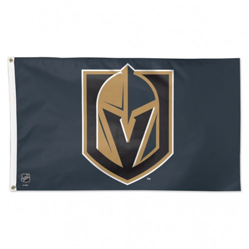 Officially licensed 3' x 5' flag with attached D-rings. The imprint is 100% show through to the backside with a long lasting color-fast die. Fly on a flagpole or hang it on a wall. Flags come poly-bagged with header and graphic displayed. Made By Wincraft, Inc.