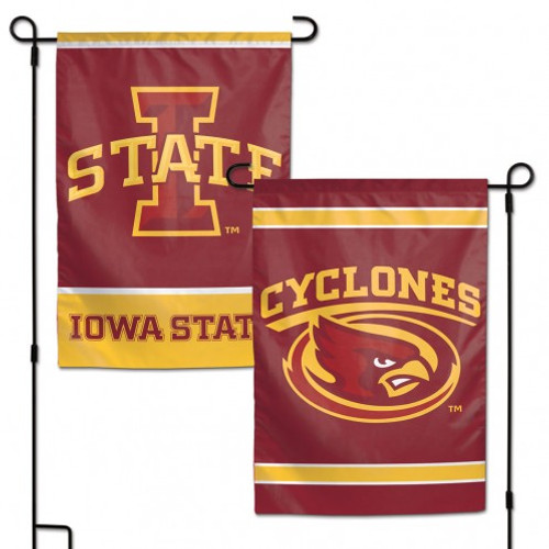 "These garden flags are a great way to show who your favorite team is, and also makes a great gift! They are a great addition to any yard or garden area. They are 11""x15"" in size, are made of a sturdy polyester material, and feature bright eye-catching graphics. Pole not included. Made By Wincraft."