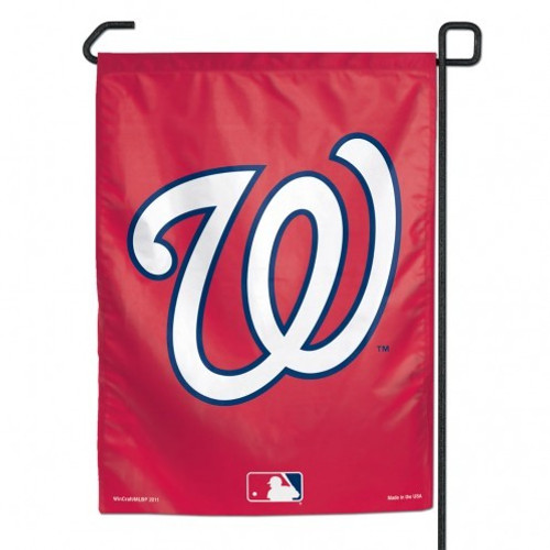 "These garden flags are a great way to show who your favorite team is, and also makes a great gift! They are a great addition to any yard or garden area. They are 11""x15"" in size, are made of a sturdy polyester material, and feature bright eye-catching graphics. Pole not included. Made by WinCraft. Made By Wincraft, Inc."