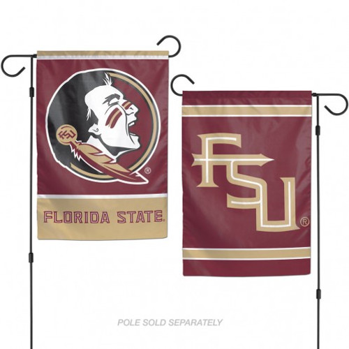 These garden flags are a great way to show who your favorite team is, and also makes a great gift! They are a great addition to any yard or garden area. They are made of a sturdy polyester material, and features bright eye-catching graphics. Pole not included. Made by WinCraft.