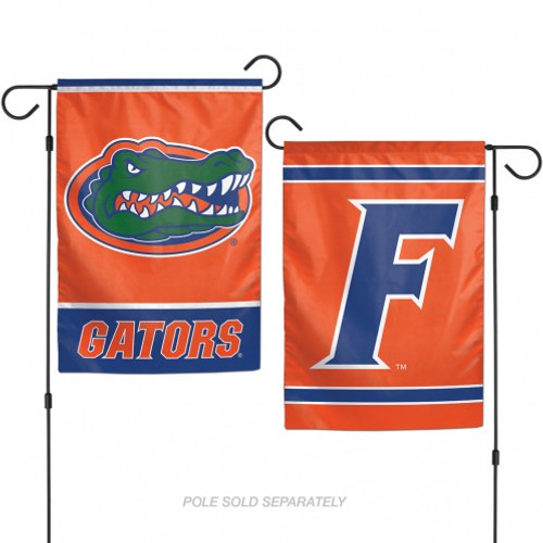 These garden flags are a great way to show who your favorite team is, and also makes a great gift! They are a great addition to any yard or garden area. They are are made of a sturdy polyester material, and feature bright eye-catching graphics. Pole not included. Made By Wincraft.