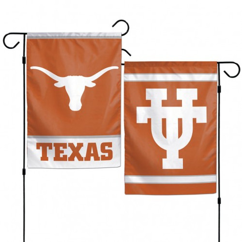 """These garden flags are a great way to show who your favorite team is, and also makes a great gift! They are a great addition to any yard or garden area. They are 11""""x15"""" in size, are made of a sturdy polyester material, and feature bright eye-catching graphics. Pole not included. Made By Wincraft."""