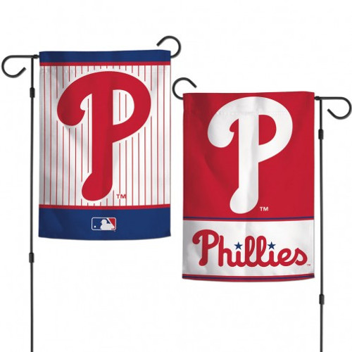 """This is an officially licensed garden flag. The durable polyester flag measures 12"""" x 18"""" and is machine washable. The flag is designed to hang vertically from a garden flag pole or inside as wall decor. Poles sold separately. Made By Wincraft, Inc."""