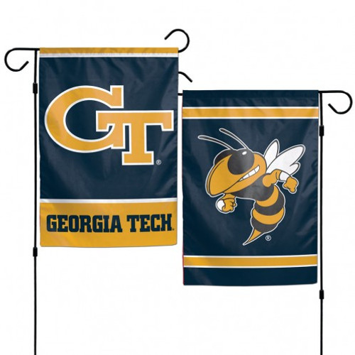 "These garden flags are a great way to show who your favorite team is, and also makes a great gift! They are a great addition to any yard or garden area. They are 12""x18"" in size, are made of a sturdy polyester material, and feature bright eye-catching graphics. Pole not included. Made by WinCraft."