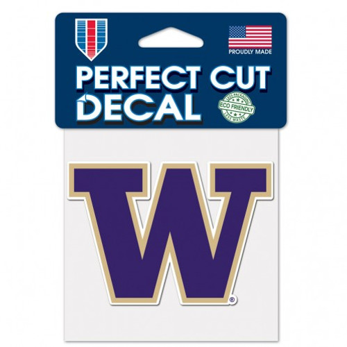 Perfect Cut decals are made of outdoor vinyl, permanent adhesive, image cut to the outside dimension of logo, full color detail is printed with a 3 yr outdoor rating. Supplied with a clear liner, transfer tape, and application instructions. Made in the USAby Wincraft.