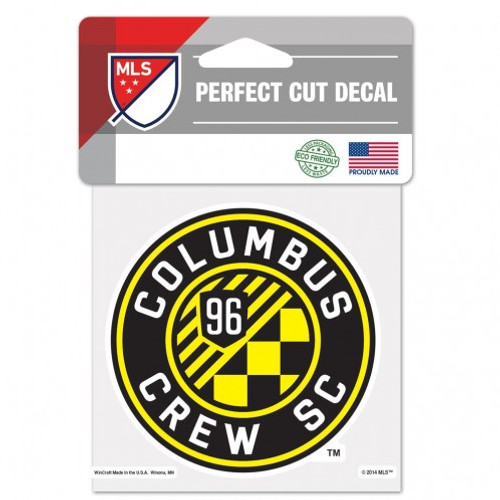 Perfect Cut decals are made of outdoor vinyl, permanent adhesive, image cut to the outside dimension of logo, full color detail is printed with a 3 yr outdoor rating. Supplied with a clear liner, transfer tape, and application instructions. Made in the USA. Made By Wincraft, Inc.