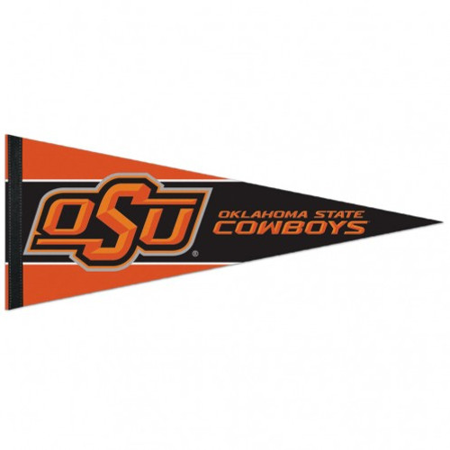 Premium pennants are the new throwback to classic wool pennant. The soft felt pennant is approximately 12x30 inches in size and features outstanding full color graphics. The pennant is durable enough to roll it up when you are at the game, and it looks great when you get home. Made by Wincraft.