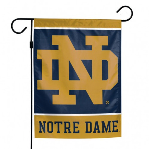 """These garden flags are a great way to show who your favorite team is, and also makes a great gift! They are a great addition to any yard or garden area. They are 12""""x18"""" in size, are made of a sturdy polyester material, and feature bright eye-catching graphics. Pole not included. Made By Wincraft, Inc."""