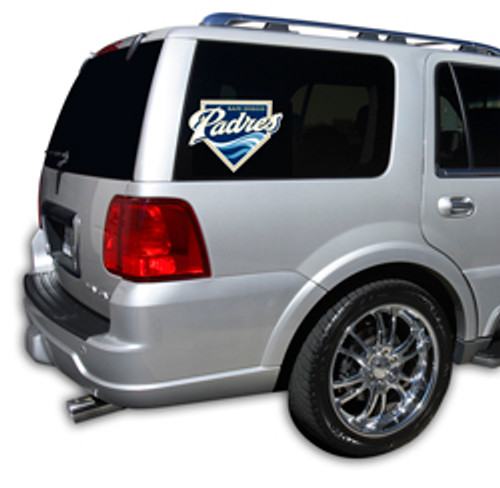 This revolutionary line of Officially Licensed graphical window film is the ultimate vehicle customization! It reduces harmful UV rays and makes the interior temperature cooler. It also features one-way vision film.. you can see out, but they can't see in. Made of professional grade material, and is quick and easy to install. Works on most pickups, SUV's, mini vans and many more! Made By Glass Tatz.