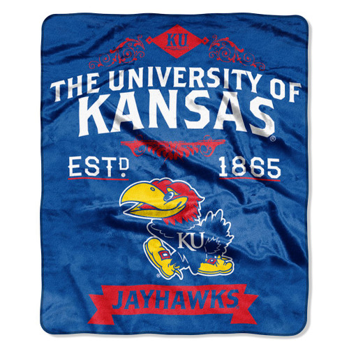 These blankets measure 50x60 and are made of acrylic and polyester and are extra warm and have superior durability. Use these at the game, on your couch, in your bedroom or whereever it may be cold and you will be glad you made this purchase. They are easy to care for, and are machine washable and dryable. Made by the Northwest Company.