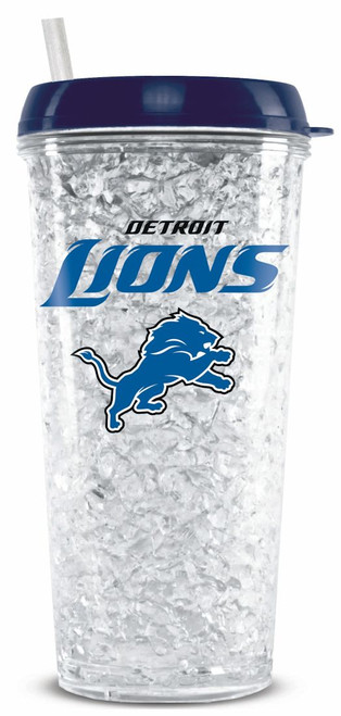 Detroit Lions Tumbler Crystal Freezer Style Special Order