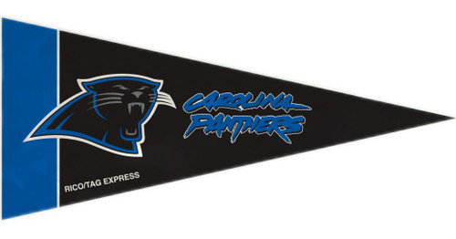 """This set of eight mini pennants is the perfect decoration for a party, kids room, rec room, a bar, or anyplace imaginable. Each pennant is 4""""x9"""" in size and made of felt. They feature your favorite teams colors and design. Made By Rico Industries"""