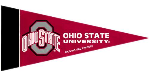 """This set of eight mini pennants is the perfect decoration for a party, kids room, rec room, a bar, or anyplace imaginable. Each pennant is 4""""x9"""" in size and made of felt. They feature your favorite team's colors and design. Made By Rico Industries"""